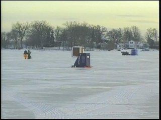 ice fishing lac la belle